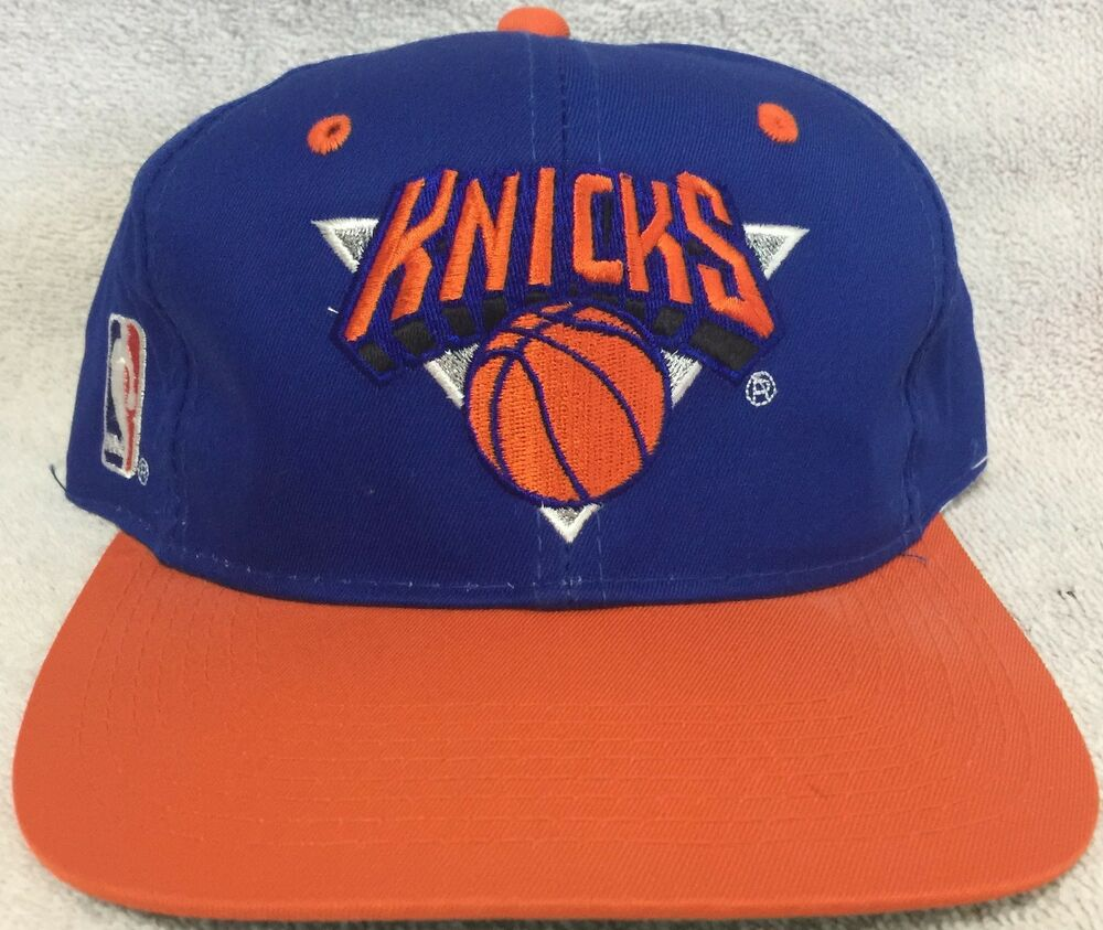 671339c9c1b16 Details about New York Knicks Vintage Sports Specialties Snapback Hat -  NWOT Blue NBA