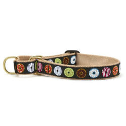 Dog Puppy Martingale Collar - Up Country - Made In USA - Donuts - S, M, L, XL