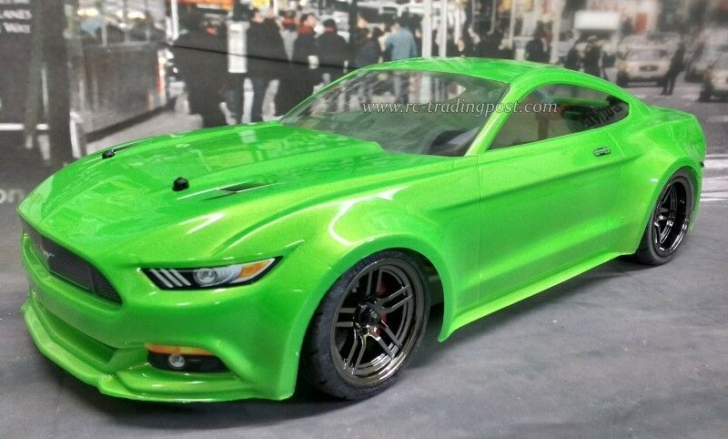 Custom Painted Body Ford Mustang For 110 Rc Drift Cars Touring