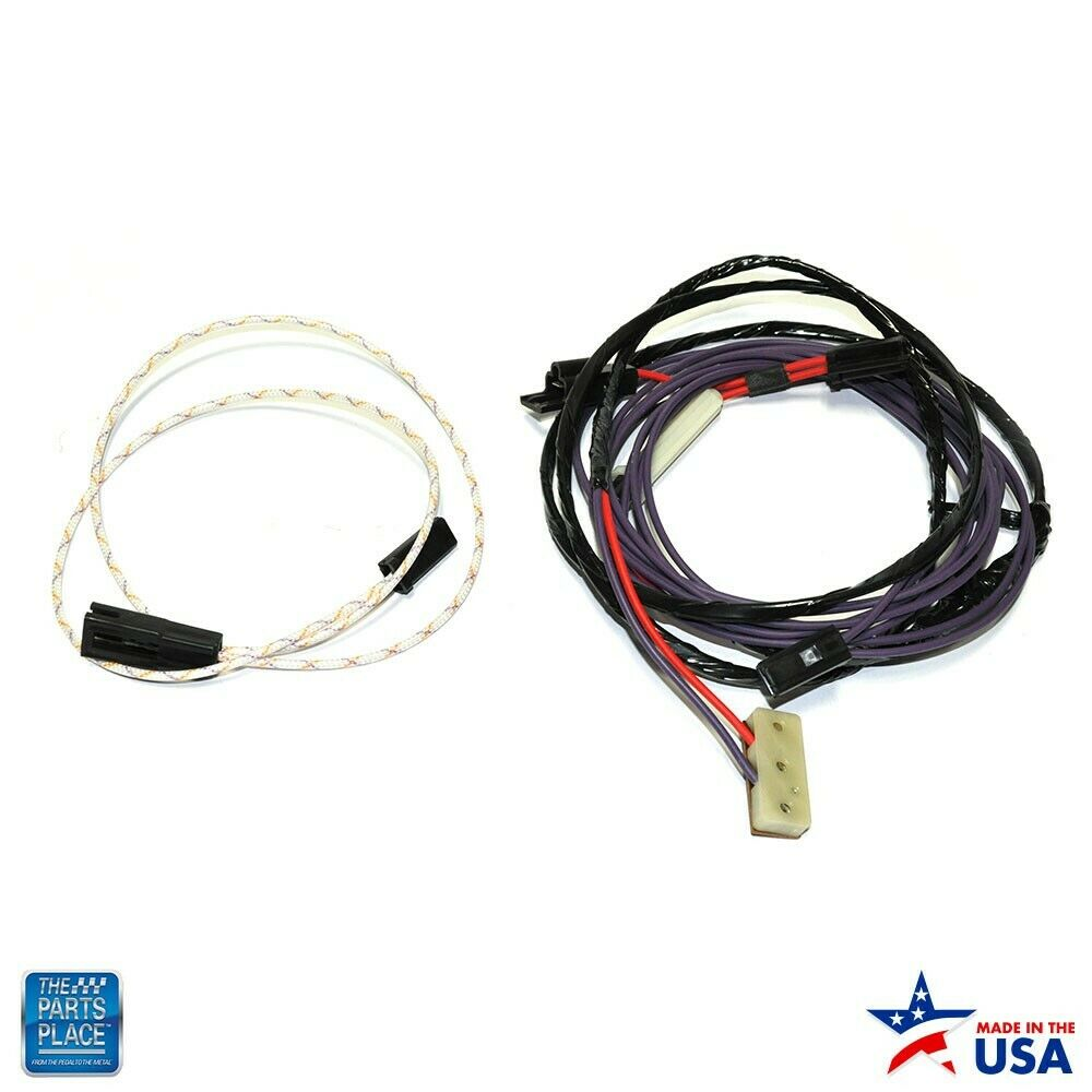 details about 1970-1972 monte carlo / el camino / chevelle - rear window  defroster harness