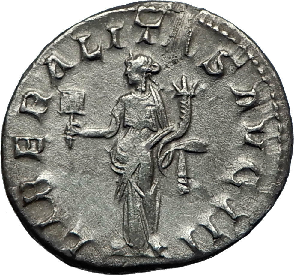 Gordianus Iii Silver Antoninianus Rome Mint Ancient Roman Imperial Coin To Be Distributed All Over The World