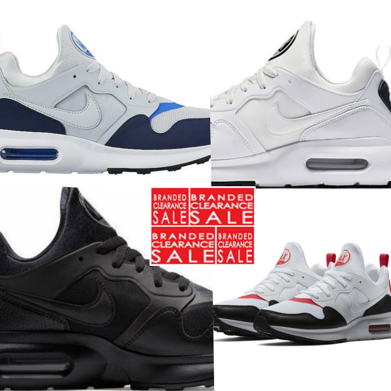 first rate 5aed1 a6cef BNIB NEW MEN NIKE AIR MAX PRIME TRIPLE WHITE RED BLACK OLIVE SIZE 7 8 9 10  11 UK   eBay