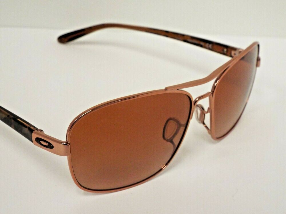 12e1eb3ce32 Details about Authentic Oakley OO4116-01 Sanctuary Rose Gold Vr50 Brown  Grdnt Sunglasses  200
