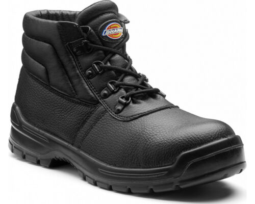 Dickies Redland II Safety Boots Mens Work Leather Steel Toe Cap Midsole Shoes
