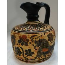 #vtt19 ANCIENT GREEK MUSEUM REPRODUCTION CORINTH EWER 580 BC 5