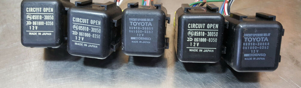 Fuel Pump Circuit Opening Relay 8591030050 Toyota Previa 9195 Rhebay: 1995 Toyota Previa Fuel Pump Relay Location At Gmaili.net
