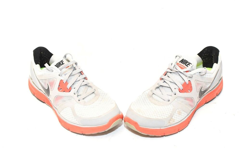 5047de7f4e Details about Girl's Nike 454568-003 Lunar Glide 3 Running Training Shoes  Gray and Pink 5.5Y