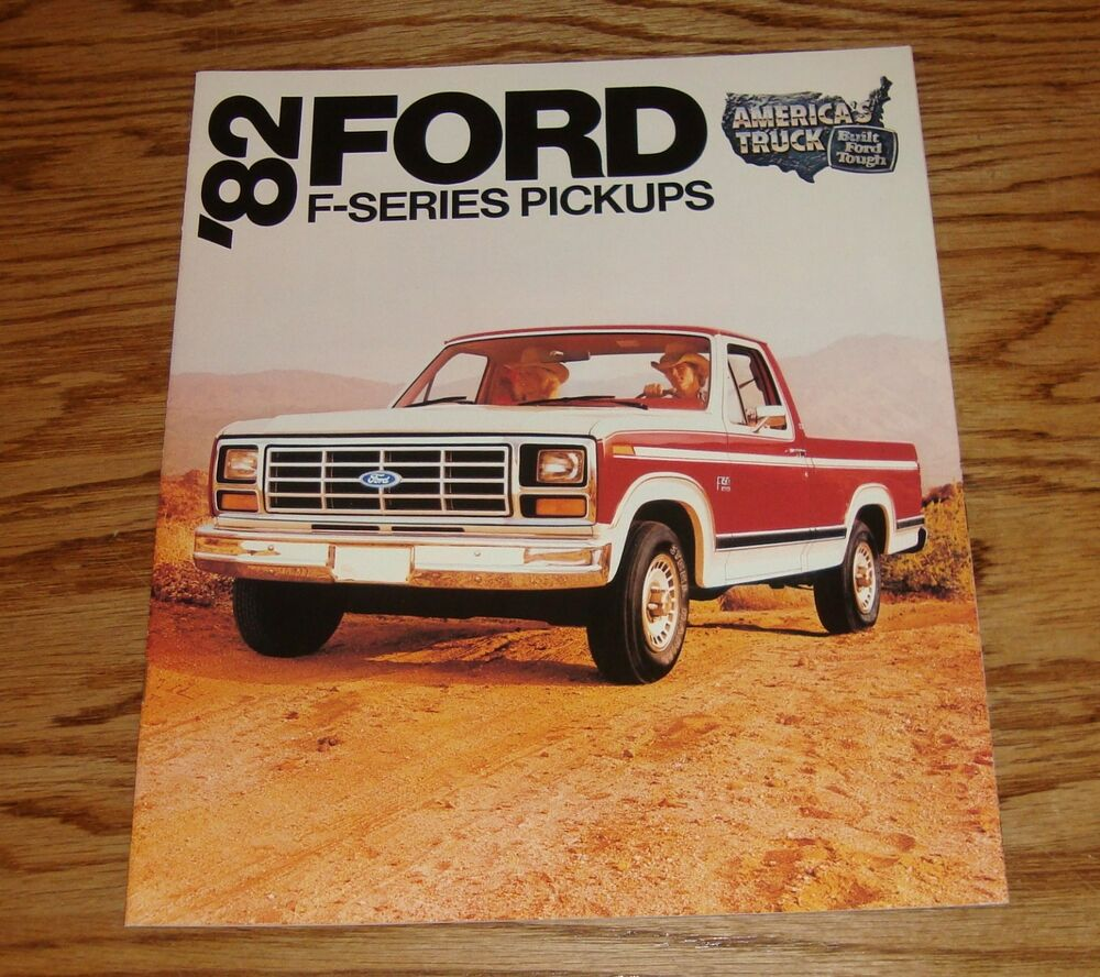 Original 1982 Ford Truck F Series Pickup Sales Brochure 82 F 150 250