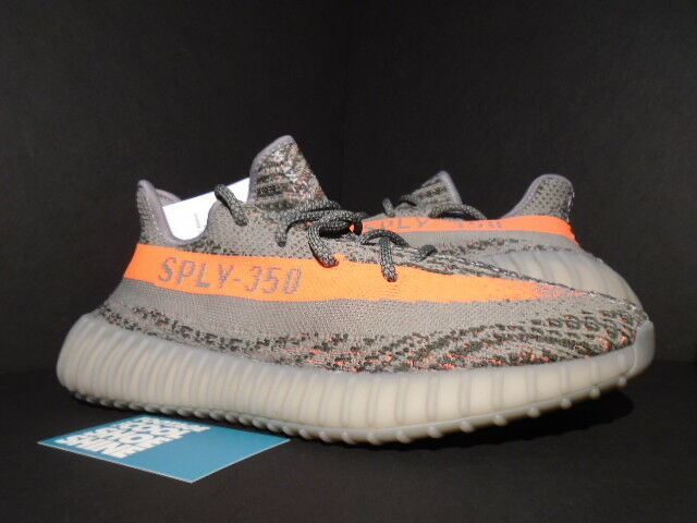 13aef861d01db Details about ADIDAS YEEZY BOOST 350 V2 KANYE WEST STEEL GREY BELUGA SOLAR  RED BB1826 ULTRA 9