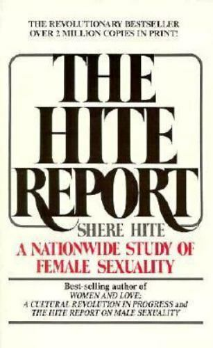 Hite report on female sexuality