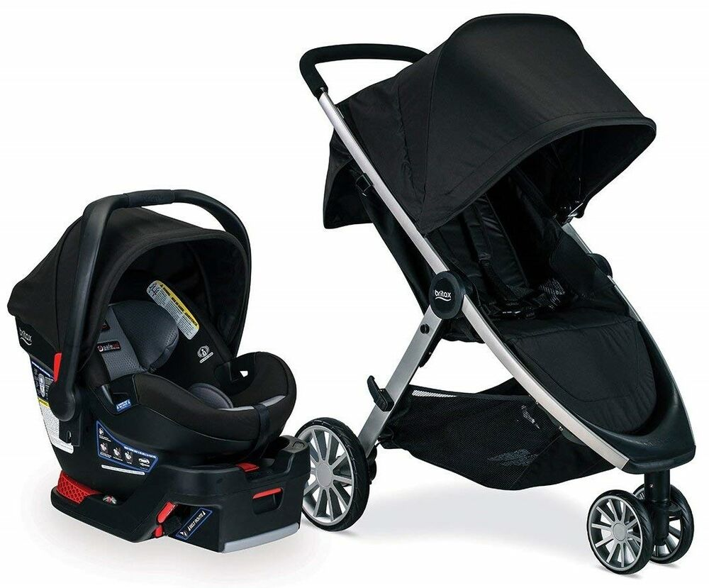 Baby Strollers And Car Seats: Britax B-Lively Stroller & B-Safe Ultra Infant Car Seat