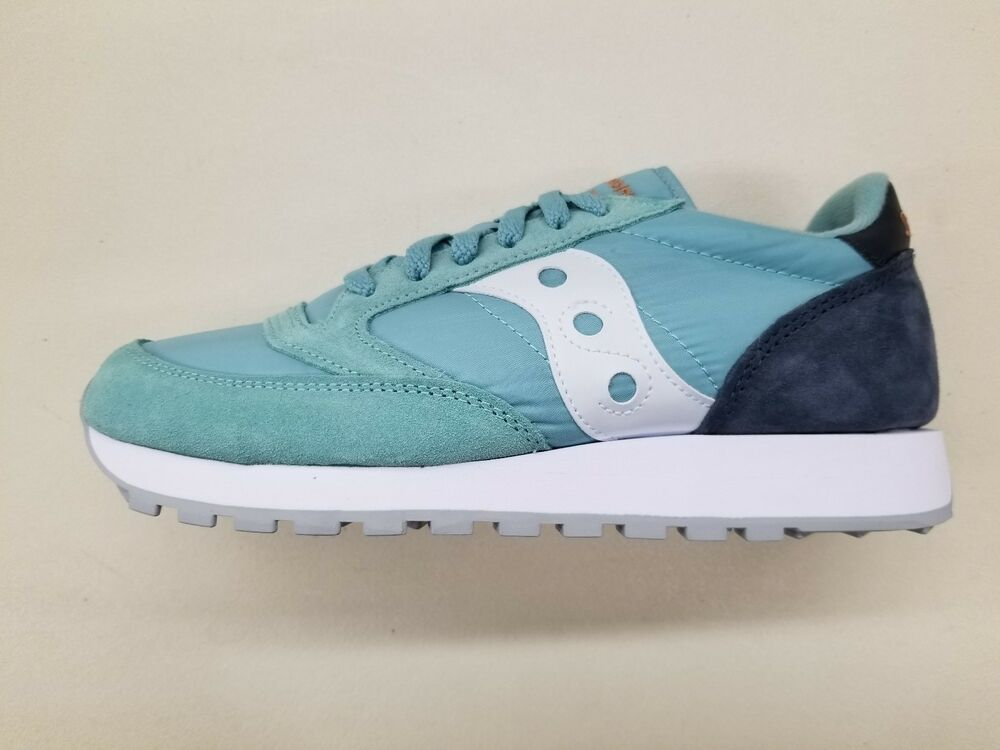 1a4bc1629ee3 Details about SAUCONY JAZZ ORIGINAL TEAL WHITE GREY NAVY BLUE RETRO RUNNING  SNEAKERS S2044-453