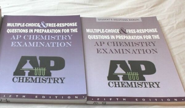 AP Chemistry Student Multiple Choice Examination & Solutions Manual