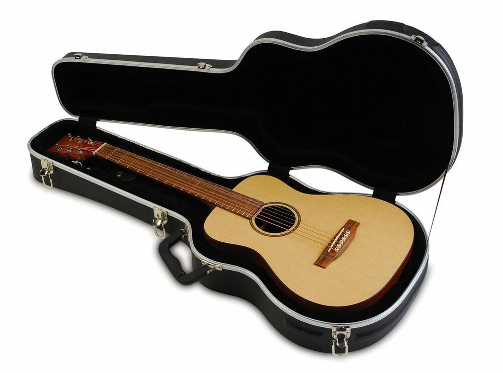 a4400541f1b Details about SKB 1SKB-300 Baby Mini Acoustic Guitar Hard Case Fits  Taylor/Martin LX + More