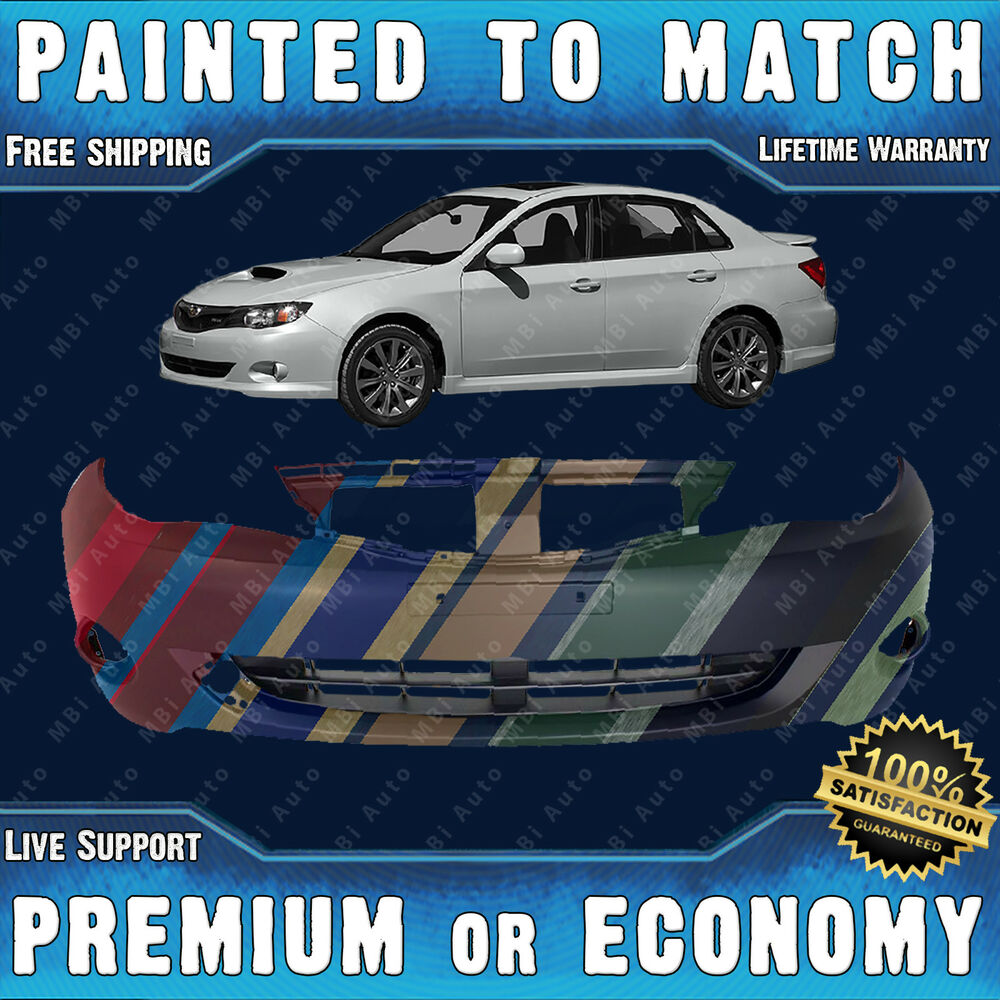 e3e246b5a58 Details about Painted To Match - Front Bumper Cover Fascia for 2008-2011 Subaru  Impreza   WRX