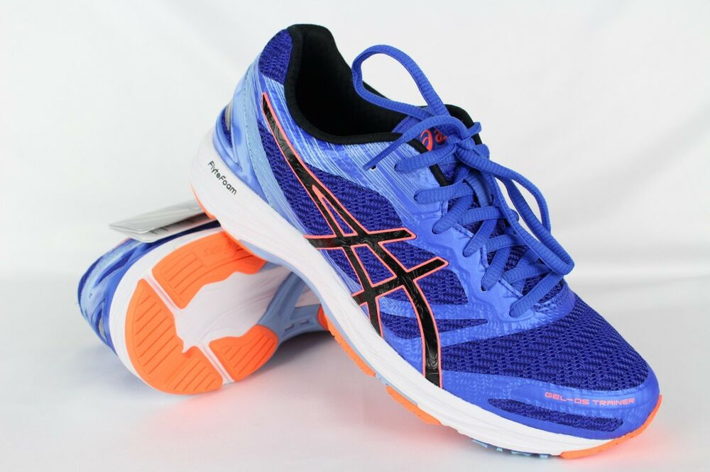 Details about New Asics Women s Gel DS Trainer 22 Running 7 Blue Purple  Black Flash Coral b891891a56d