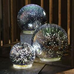 Primitives by Kathy Iridescent Glass Ball Set of 3