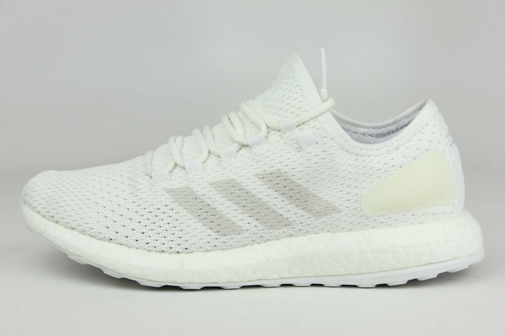 28e49467e1b Details about ADIDAS ORIGINALS PUREBOOST CLIMA WHITE CRYSTAL GREY MENS SIZE  SNEAKERS BY8897