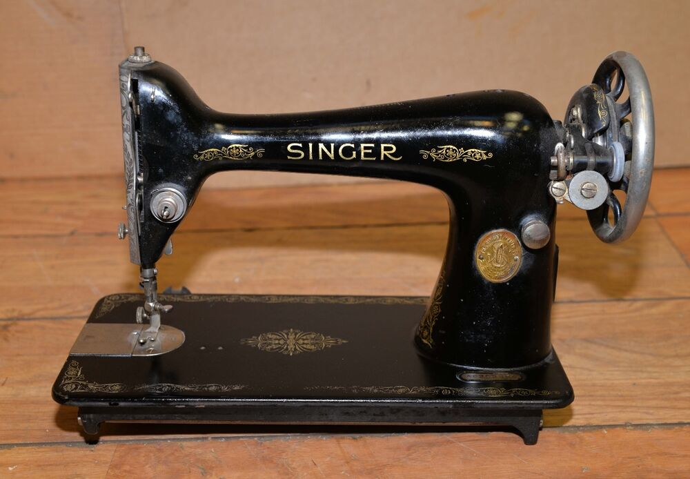 Early Singer Sewing Machine Antique Collectible Model 40 Treadle Gorgeous 1923 Singer Sewing Machine