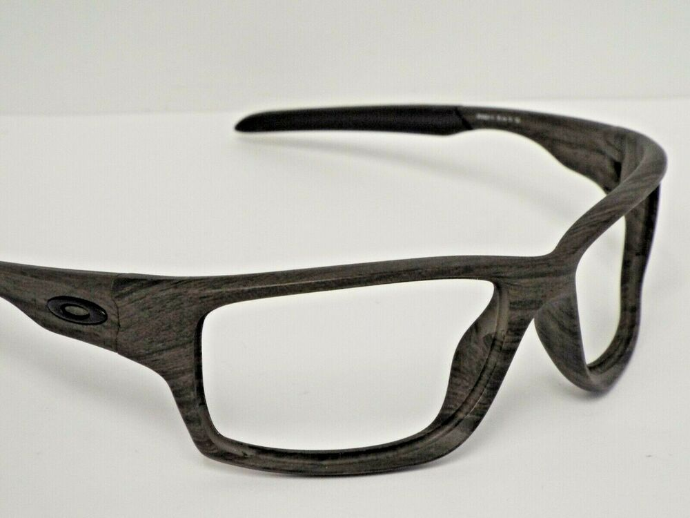 9e5ed3616f8 Details about Authentic Oakley OO9225-13 Canteen Grey Woodgrain Sunglasses  Wrap Frame  250