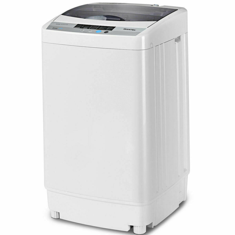 Portable Compact Washing Machine 1.6 Cu.ft Spin Washer ...