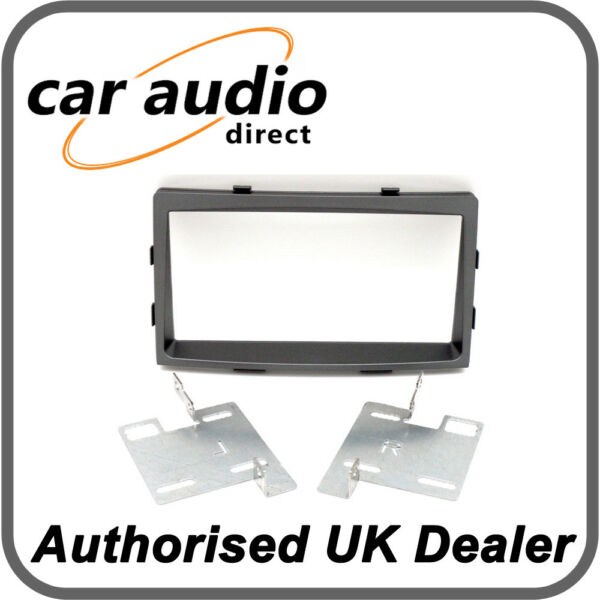 VAUXHALL ASTRA H Car Stereo ANTHRACITE  Double Din Fascia Facia Panel CT23VX04A