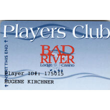 Bad River Casino - Players Club - Slot Card