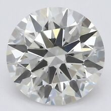 Certified 0.10 Ct Lab Grown Loose Diamond VS F-G Clarity Round Cut CVD Diamond