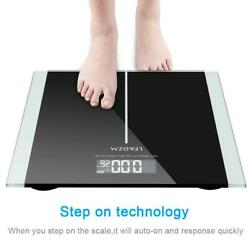 Kyпить Digital Body Weight Scale 396lb 180kg LCD Bathroom Scales Tempered Glass+Battery на еВаy.соm