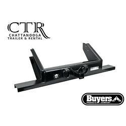Buyers Products 1809055, Flatbed/Flatbed Dump Hitch Plate Bumper w/ 2'' Receiver