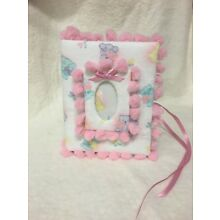 Baby Girl Photo Album - Holds 100 4x6 Photos - Handmade  Perfect for new baby