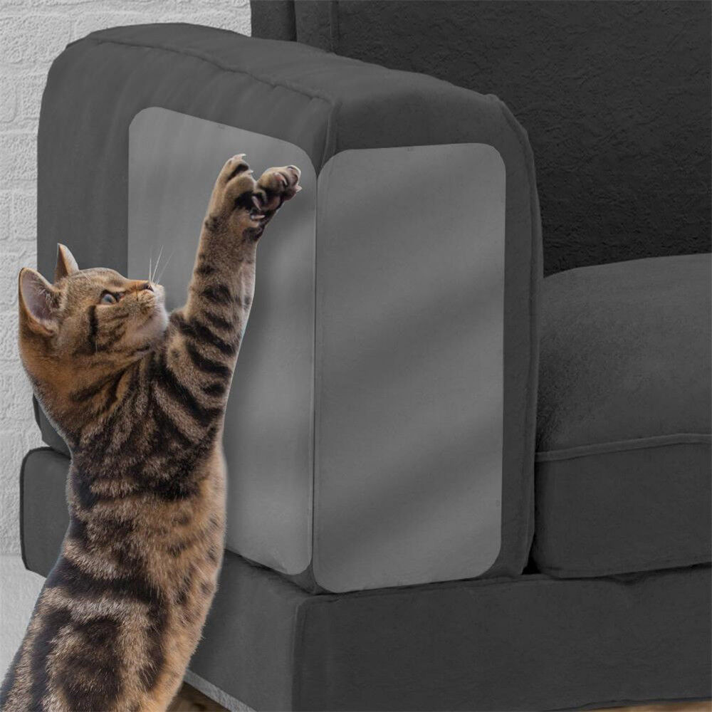 2x Pet Cat Scratch Guard Mat Cat Scratching Post Furniture Sofa