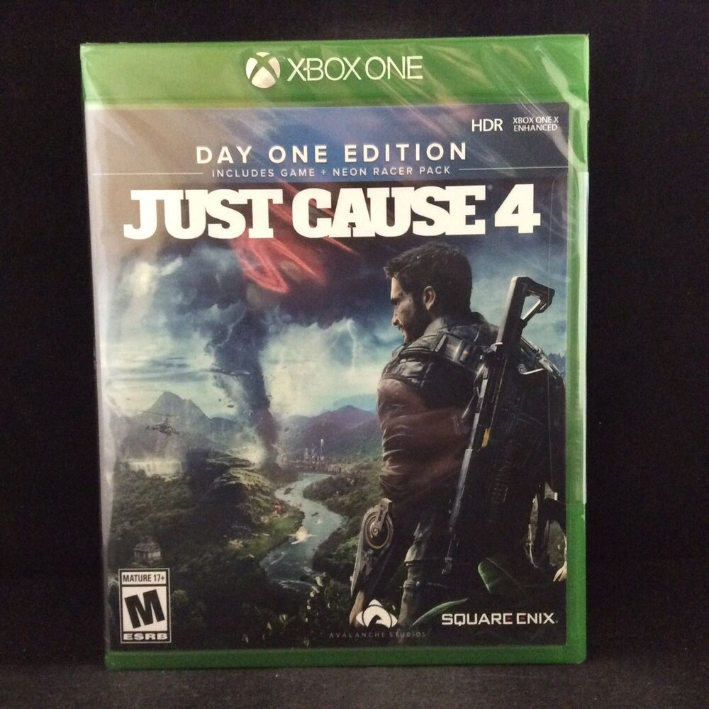 Just Cause 4 - [Day One Edition] (Xbox One) BRAND NEW/ Region Free