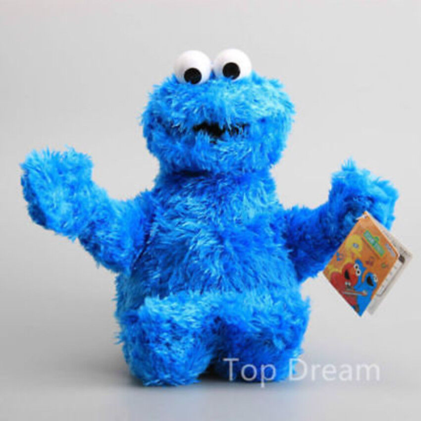 Details about NEW OFFICIAL Sesame Street Cookie Monster Beanie Plush Toy  Soft Doll 11   Teddy 89450ba5a1e