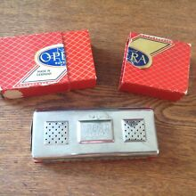 Vintage OPERA Superior harmonica double sided C/G Germany with box