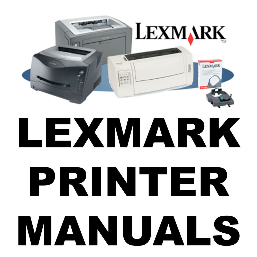 LEXMARK Printer SERVICE MANUALS & Parts Catalogs Laser Optra MFC Manual on  a CD | eBay