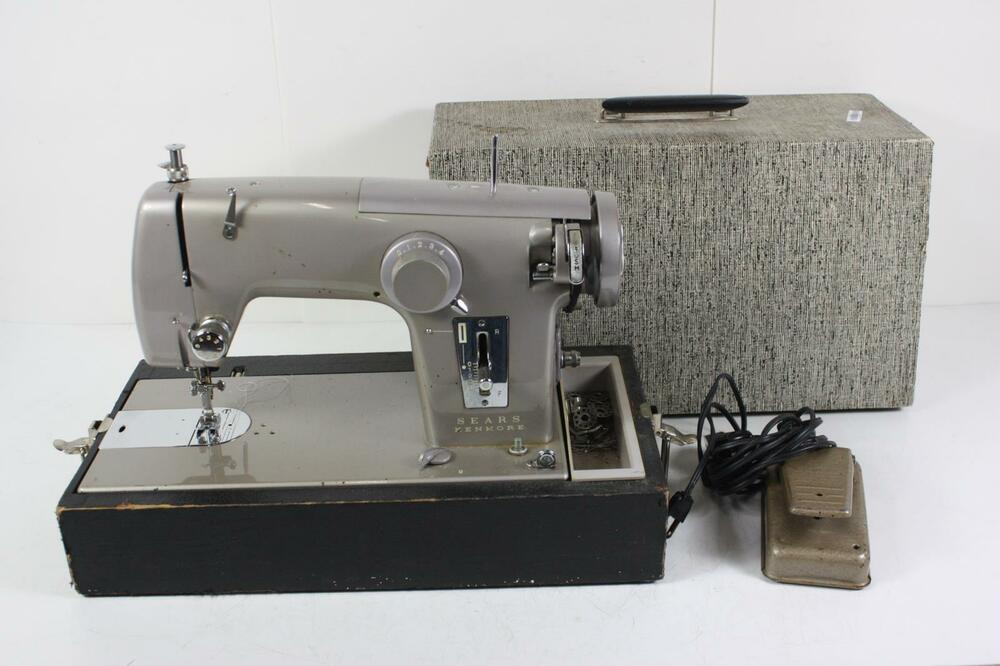 Commerical Grade Heavy Duty Sears Kenmore Model 40 Sewing Machine Extraordinary Sears Ca Sewing Machines