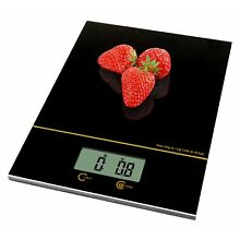 Kitchen Scale/Food Scale Black Ultra Slim Frame Multifunction Jewelry Postal NEW