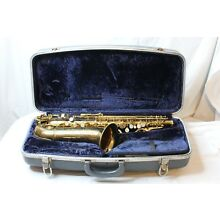 Conn Director Shooting Stars Vintage Alto Saxophone With Hard Case
