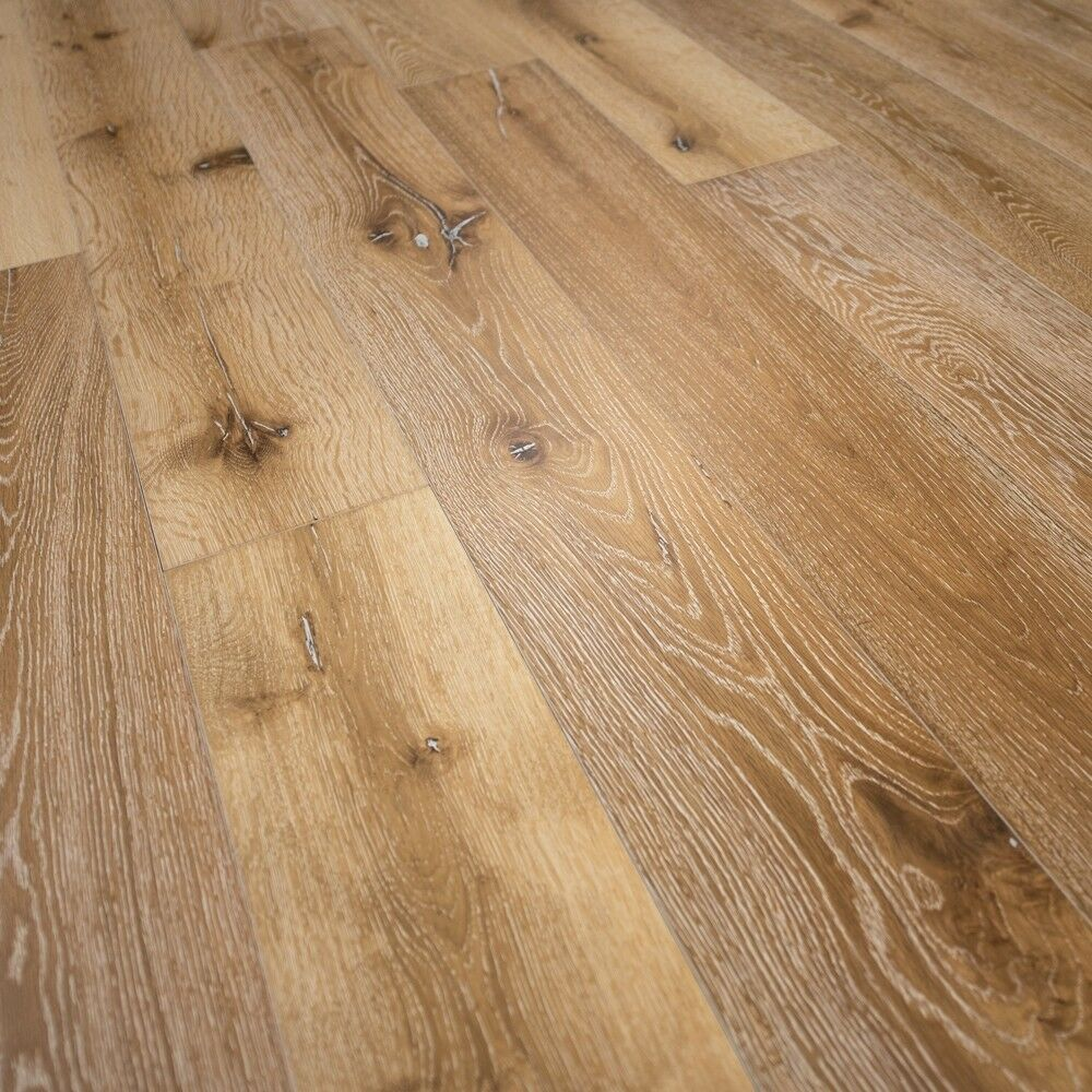 Details About Wide Plank French Oak Wood Flooring Idaho Prefinished Engineered Sample