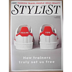Stylist 430 Aug 2018 TRAINERS CELLULITE HOMELESSNESS RAY BLK DAME KELLY HOLMES