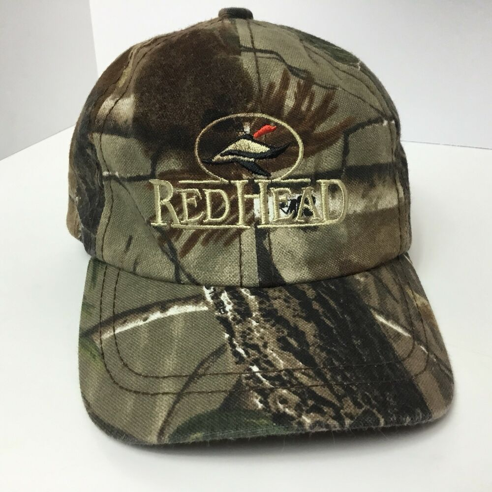 Details about Red Head Distressed Camouflage Duck Baseball Cap Camo Hat  Strapback Boy s Youth 9033d85042ed