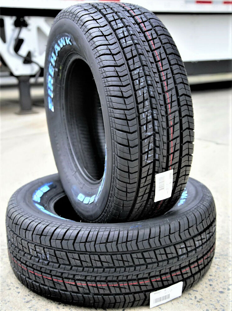 Letters On Tires >> 2 New Firestone Firehawk Indy 500 255/60R15 102S A/S All ...