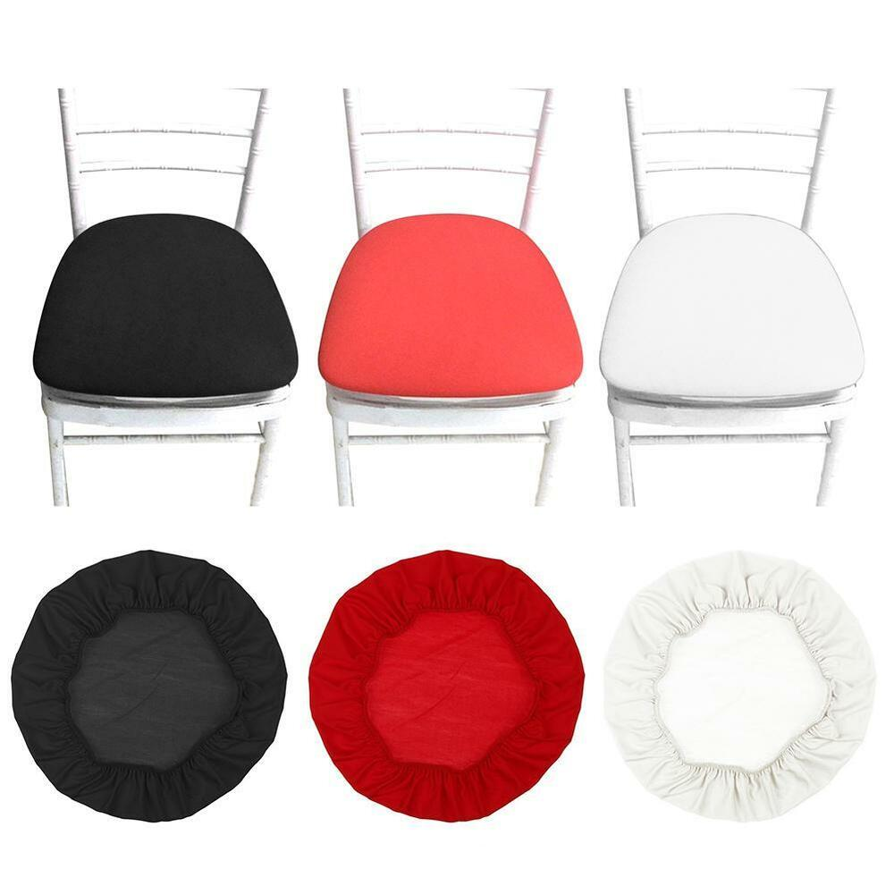 Details about removable elastic chair seat covers bar patio dining chairs cushion cover new