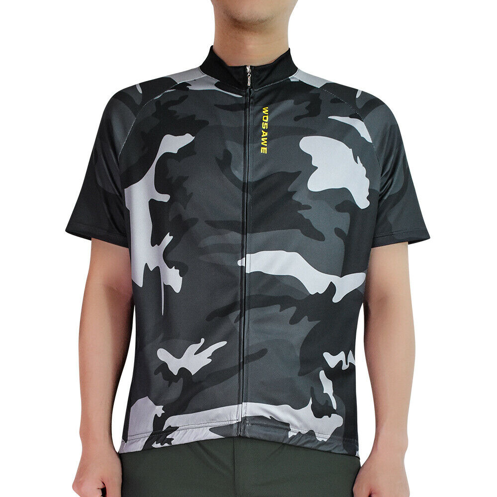 37d313838 Details about Cycling Jersey Short Sleeve Bike Bicycle Breathable Summer Mens  Tops Shirt Sport