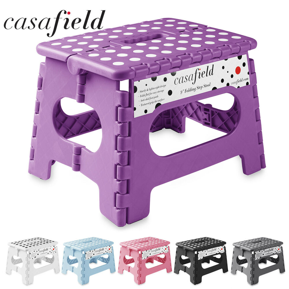 9 Quot Collapsible Folding Plastic Kitchen Step Foot Stool