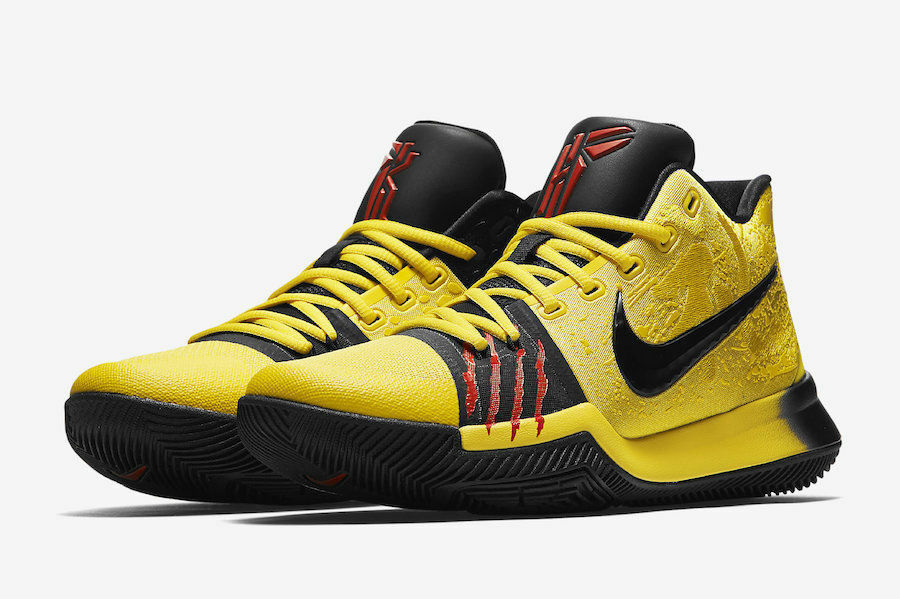 differently 9af03 fdd4b Details about Nike Kyrie 3 Mamba Mentality Bruce Lee RARE Size 14 Kobe Kyrie