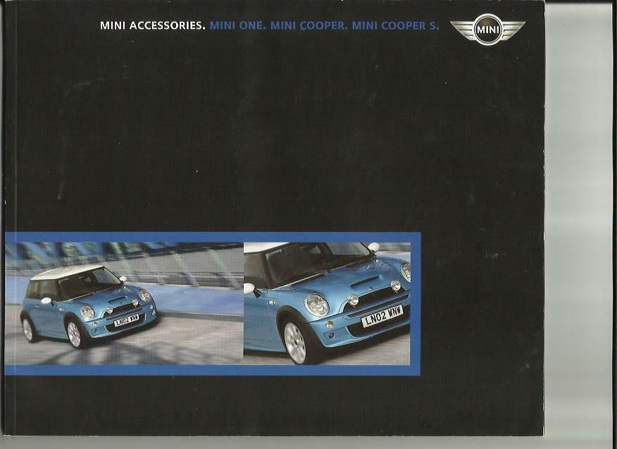 Mini Mini One Mini Cooper And Cooper S Accessories Sales