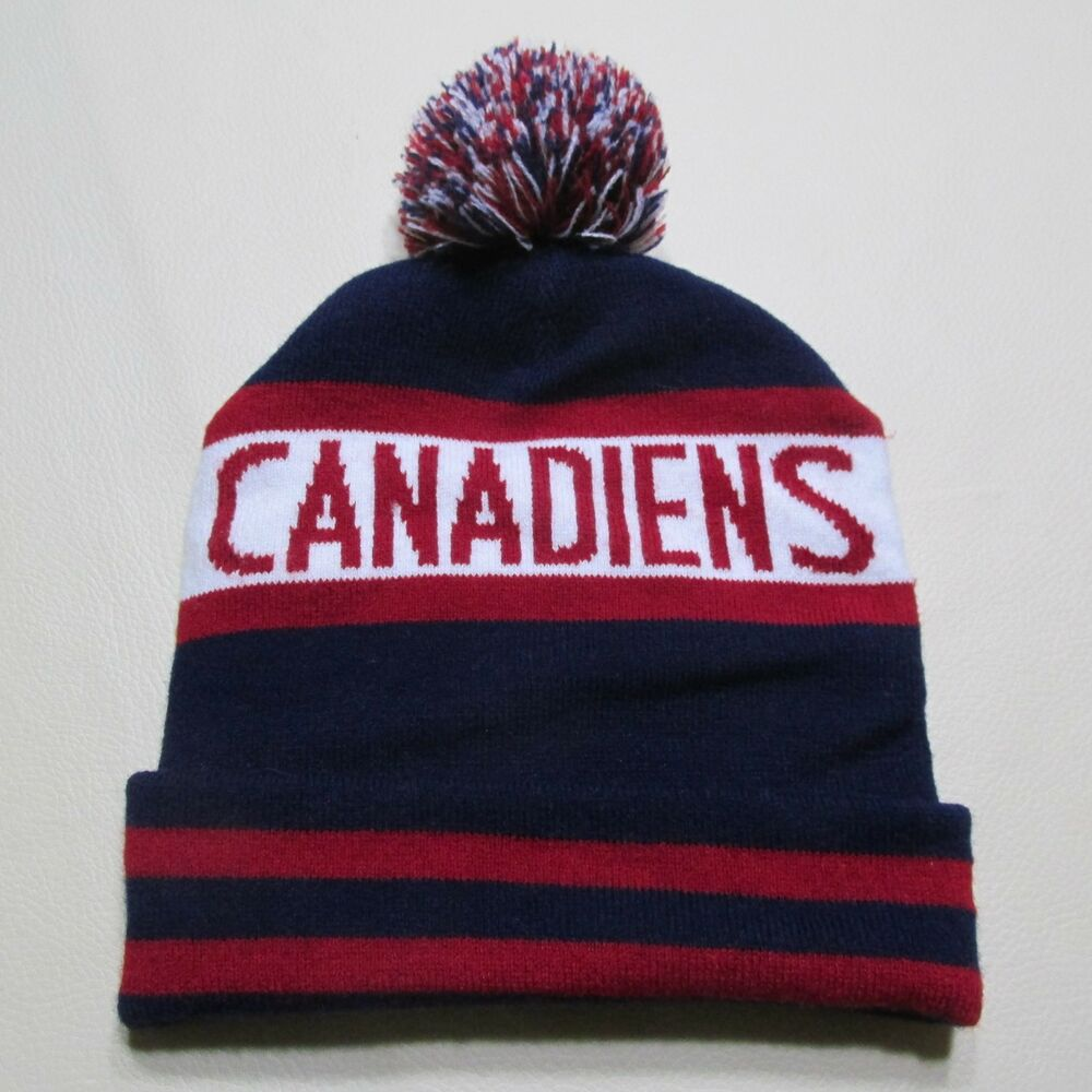 Details about NHL MONTREAL CANADIENS FAN CLUB BEANIES WINTER HAT TOQUE  TUQUE HABS 9f6364bcad0