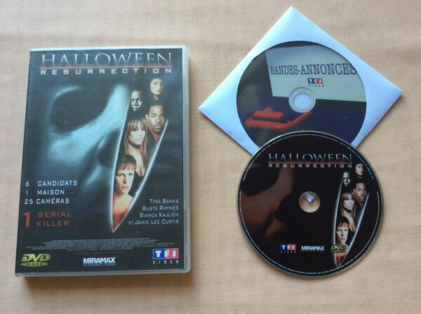 DVD Halloween Résurrection Tyra Banks Busta Rhymes DVD VIDEO FILM PAL VF